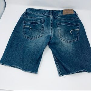 American Eagle Outfitters Shorts - American Eagle Cut Off Jean Shorts Stretch Size 2